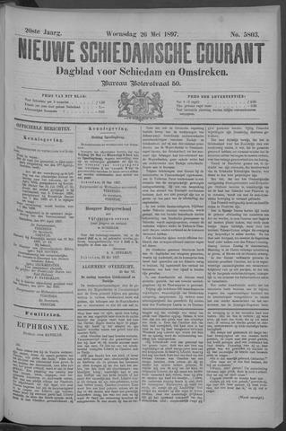 Nieuwe Schiedamsche Courant 1897-05-26