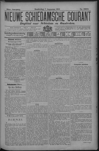 Nieuwe Schiedamsche Courant 1913-08-07