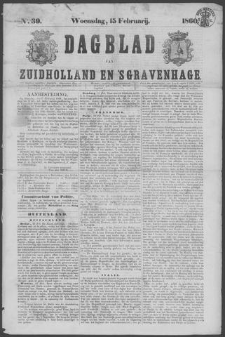 Dagblad van Zuid-Holland 1860-02-15