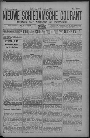 Nieuwe Schiedamsche Courant 1913-11-08