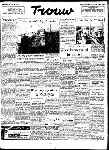Trouw / De Rotterdammer 1960-04-01