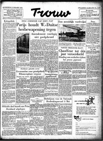 Trouw / De Rotterdammer 1954-03-25