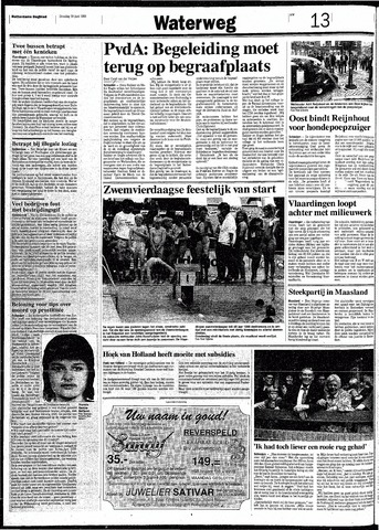 Rotterdamsch Nieuwsblad / Schiedamsche Courant / Rotterdams Dagblad / Waterweg / Algemeen Dagblad 1991-06-25
