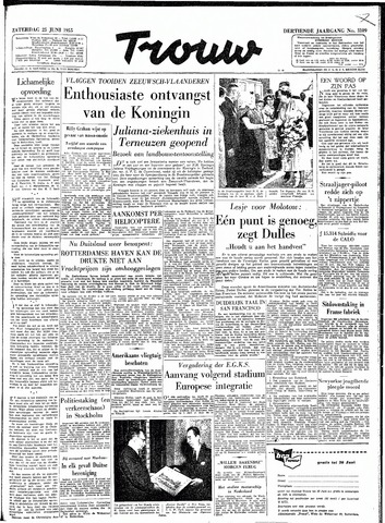 Trouw / De Rotterdammer 1955-06-25