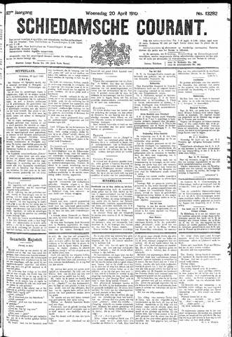 Schiedamsche Courant 1910-04-20