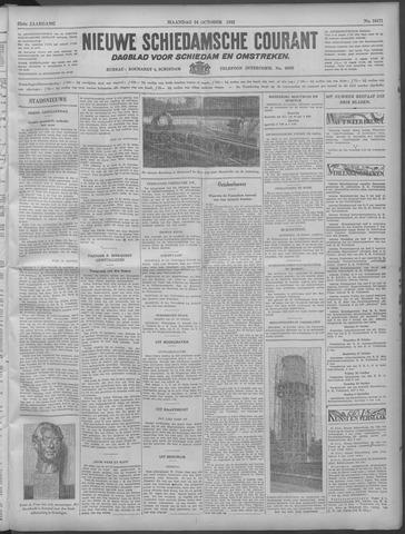 Nieuwe Schiedamsche Courant 1932-10-24