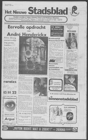 Het Nieuwe Stadsblad 1972-06-02