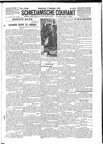 Schiedamsche Courant 1933-09-07