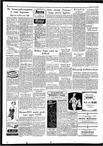 Rotterdamsch Parool / De Schiedammer 1955-06-03