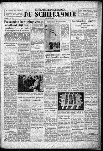 Rotterdamsch Parool / De Schiedammer 1947-05-06