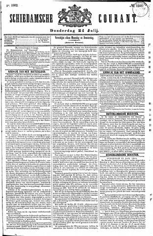 Schiedamsche Courant 1862-07-24