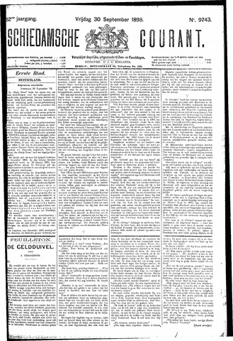 Schiedamsche Courant 1898-09-30