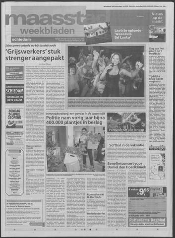 Maaspost / Maasstad / Maasstad Pers 2005-04-20
