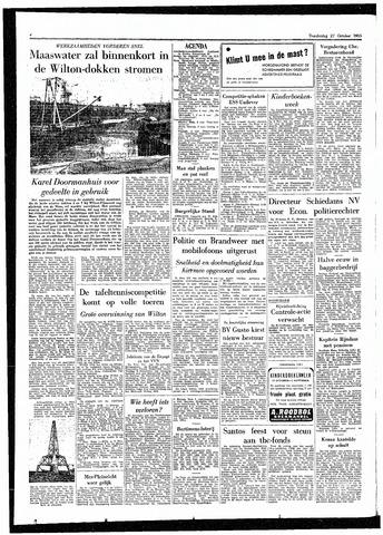 Rotterdamsch Parool / De Schiedammer 1955-10-27
