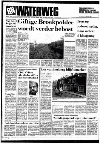 Rotterdamsch Nieuwsblad / Schiedamsche Courant / Rotterdams Dagblad / Waterweg / Algemeen Dagblad 1987-02-11