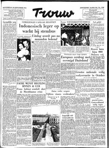 Trouw / De Rotterdammer 1955-09-29