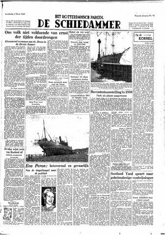 Rotterdamsch Parool / De Schiedammer 1949-03-03