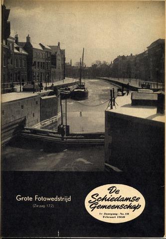 Schiedamse Gemeenschap (tijdschrift) 1950-02-01