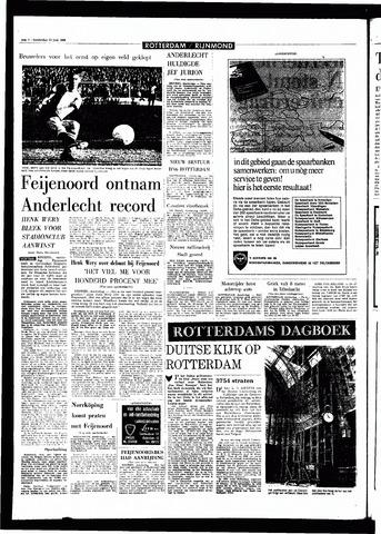 Rotterdamsch Parool / De Schiedammer 1968-06-13