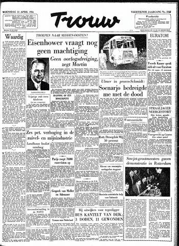 Trouw / De Rotterdammer 1956-04-11