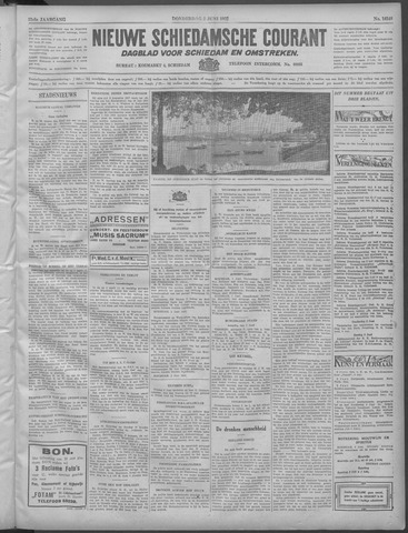 Nieuwe Schiedamsche Courant 1932-06-02