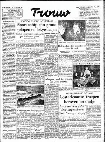Trouw / De Rotterdammer 1955-01-13