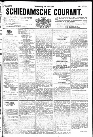 Schiedamsche Courant 1910-06-15