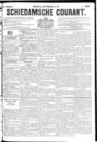 Schiedamsche Courant 1908-02-20