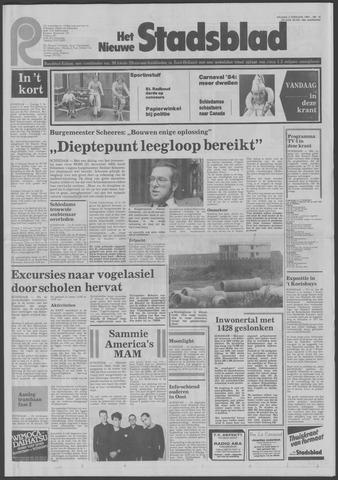 Het Nieuwe Stadsblad 1984-02-03