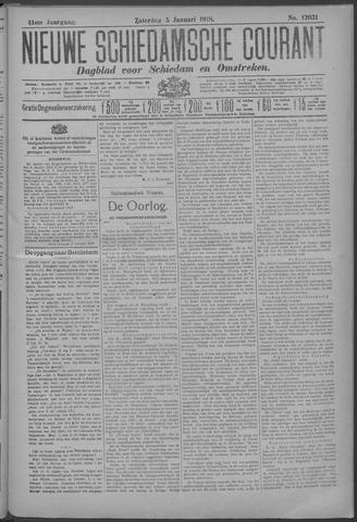 Nieuwe Schiedamsche Courant 1918-01-05