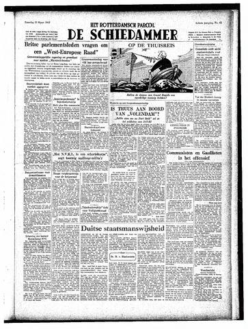 Rotterdamsch Parool / De Schiedammer 1948-03-13