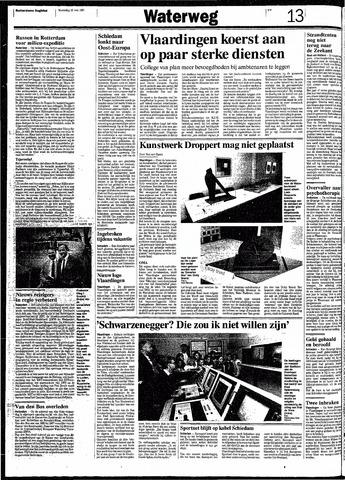 Rotterdamsch Nieuwsblad / Schiedamsche Courant / Rotterdams Dagblad / Waterweg / Algemeen Dagblad 1991-05-29