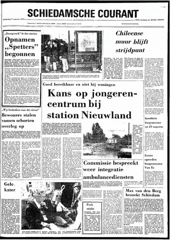 Rotterdamsch Nieuwsblad / Schiedamsche Courant / Rotterdams Dagblad / Waterweg / Algemeen Dagblad 1979-08-09