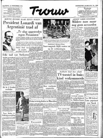 Trouw / De Rotterdammer 1955-11-14