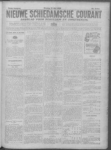 Nieuwe Schiedamsche Courant 1929-05-21