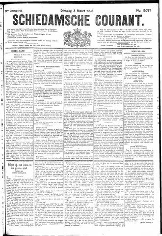Schiedamsche Courant 1908-03-03