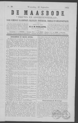 De Maasbode 1853-09-21