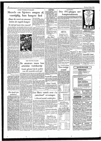 Rotterdamsch Parool / De Schiedammer 1955-03-08