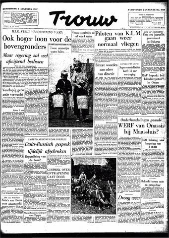 Trouw / De Rotterdammer 1957-08-01