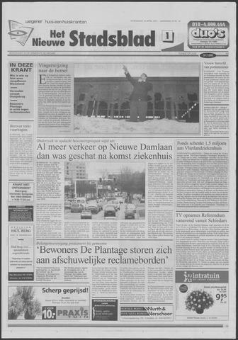 Het Nieuwe Stadsblad 2001-04-18