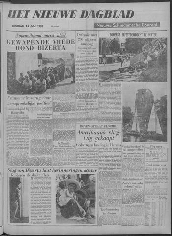 Nieuwe Schiedamsche Courant 1961-07-25