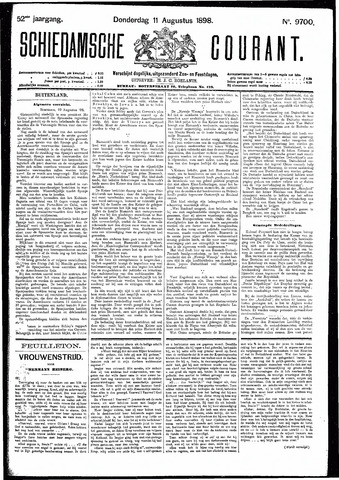 Schiedamsche Courant 1898-08-11