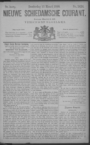 Nieuwe Schiedamsche Courant 1886-03-11