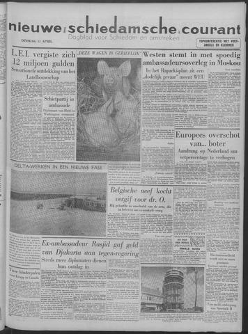 Nieuwe Schiedamsche Courant 1958-04-15