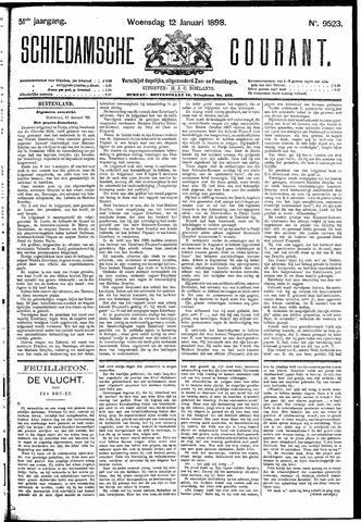 Schiedamsche Courant 1898-01-12