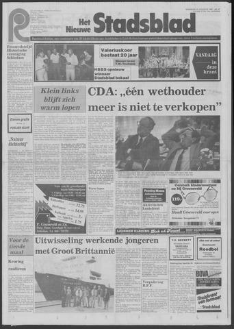 Het Nieuwe Stadsblad 1982-08-25
