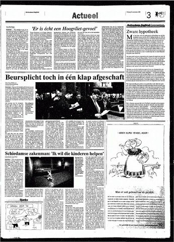 Rotterdamsch Nieuwsblad / Schiedamsche Courant / Rotterdams Dagblad / Waterweg / Algemeen Dagblad 1998-11-27