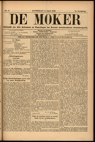 De Moker 1908-04-11