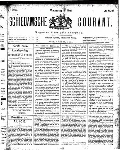 Schiedamsche Courant 1885-05-18