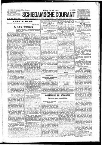 Schiedamsche Courant 1933-06-23